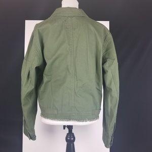 0c6f4a7b16916 Sanctuary Jackets & Coats - Sanctuary Cropped Fatigue Jacket Size XL NWT
